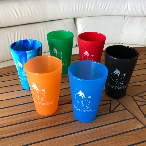 Black Fox Marine 16oz Silicone Cup